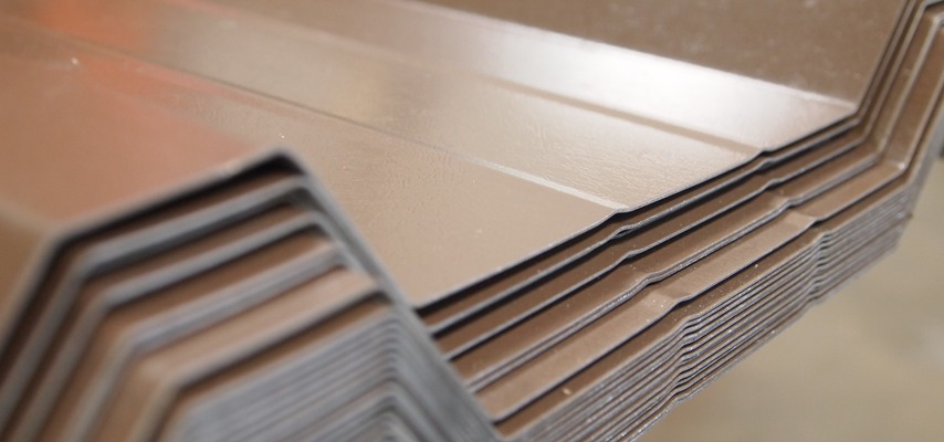 Vandyke Brown 0.7mm Plastic Coated Roofing Sheets